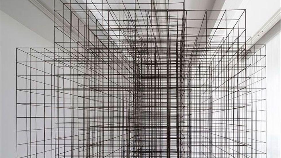 """Antony Gormley, """"Matrix""""."""