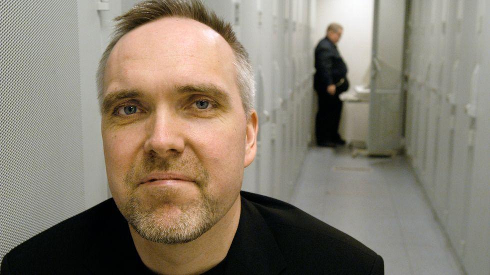 Jon Karlung, vd för internetoperatören Bahnhof, hör till de skarpaste kritikerna av upphovsrättsdirektivet. Arkivbild.