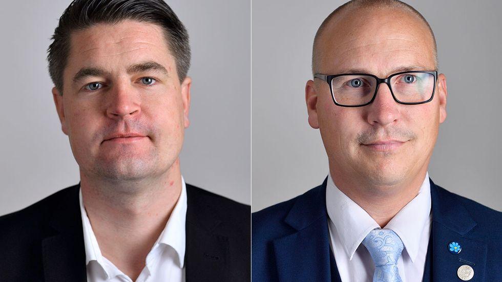 Oscar Sjöstedt och Mikael Eskilandersson.