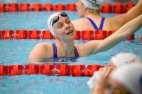 OS-klara Louise Hansson är en av 24 simmare i den svenska truppen till EM i simning i maj.