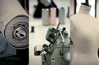 En fabrik för modeföretag