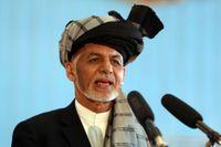 Afghanistans president Ashraf Ghani. Arkivbild.