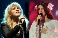 Stevie Nicks och Lana Del Rey.