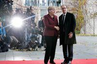 Angela Merkel och Francois Hollande.