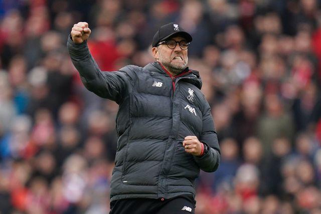 Den tyske tränaren Jürgen Klopp har gjort Liverpool till mästare i England.