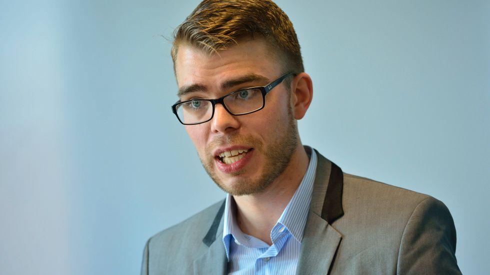 Miljöpartiets partisekreterare Anders Wallner.