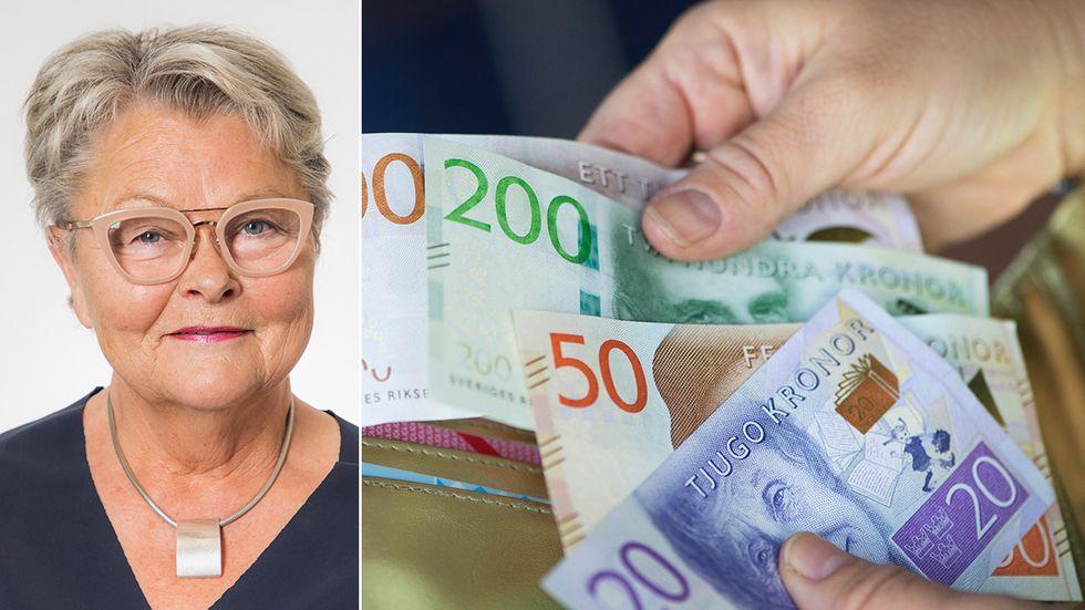 Väljarna har ingen insyn i pensionsfrågorna och vet inte vad partierna tycker då de gömmer sig bakom Pensionsgruppens stängda dörrar, skriver Eva Eriksson, SPF Seniorerna.