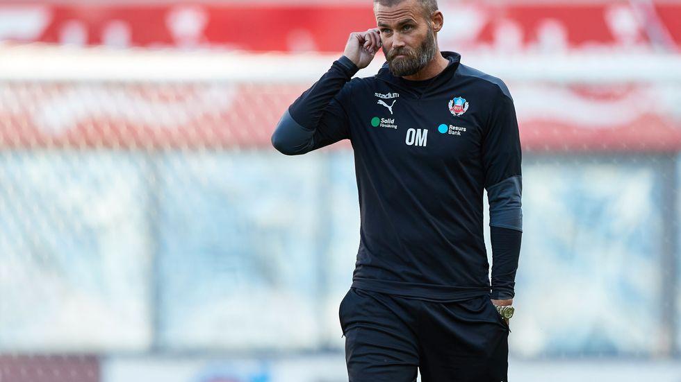 Helsingborgs tränare Olof Mellberg hade en del att fundera över i 0–0-matchen hemma mot Elfsborg.