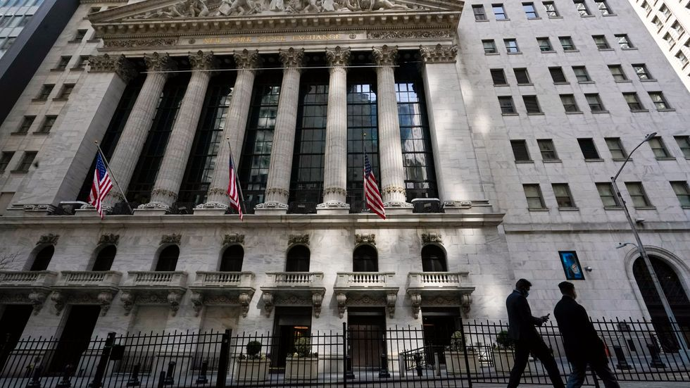 Fortsatt uppåt på Wall Street. Arkivbild.