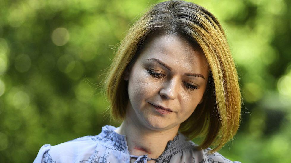 Julia Skripal blev förgiftad av nervgas och låg 20 dagar i koma. Behandlingen fortgår alltjämt.