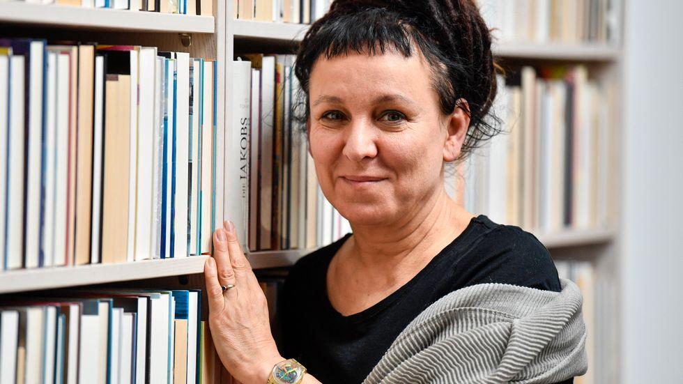 Olga Tokarczuk var en av de författare som besökte litteraturfestivalen Stockholm Literature. Arkivbild.