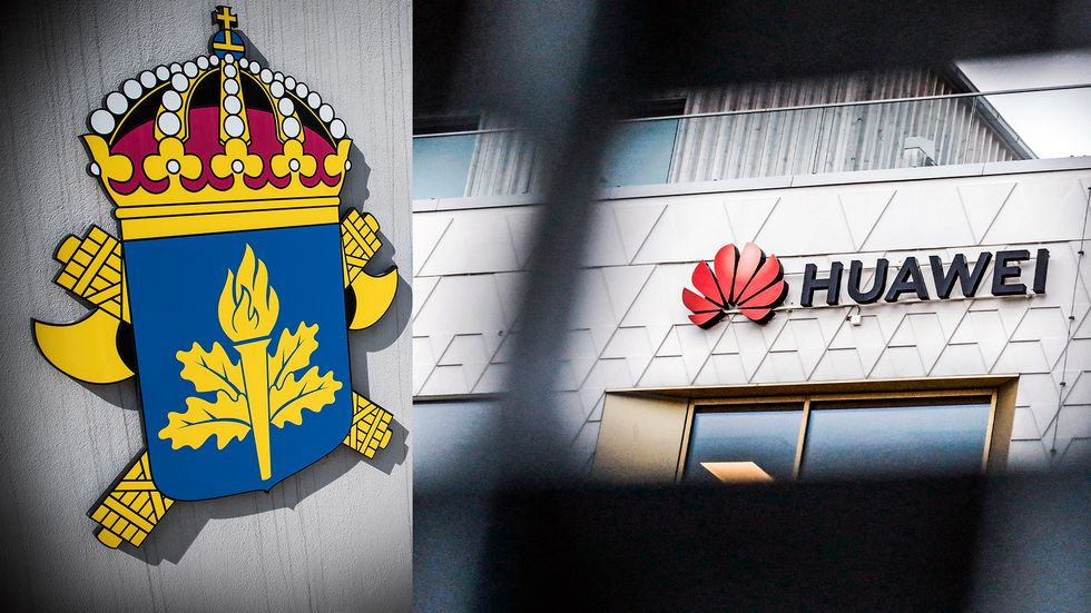 Både Säpo och Försvarsmakten hänvisar till PTS i frågan om Huawei.