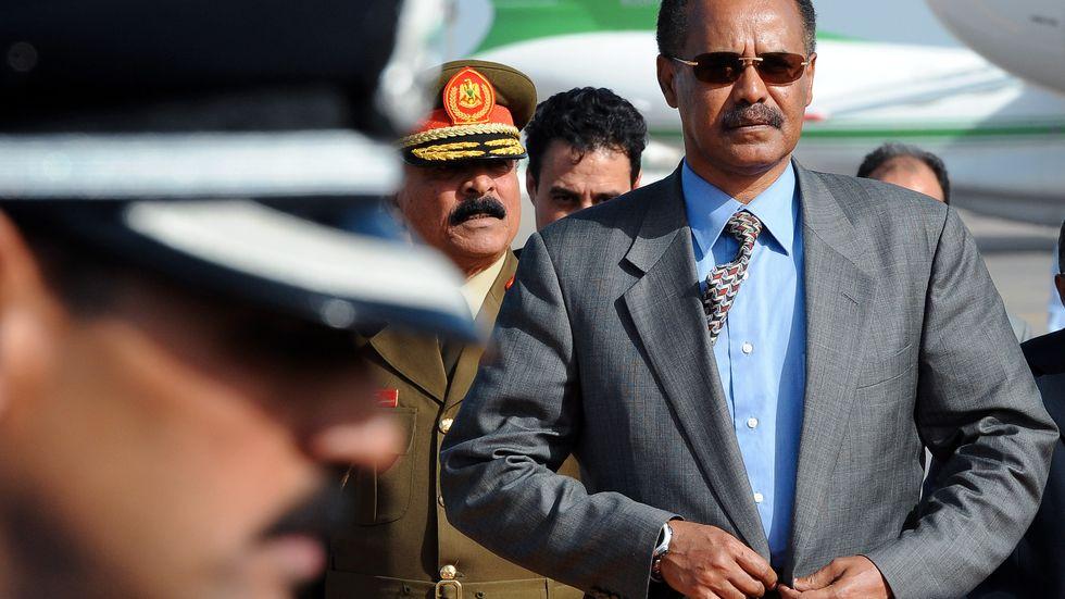 Isaias Afwerki har varit Eritreas president alltsedan självständigheten 1993.
