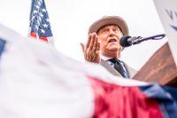 Roger Stone talade vid demonstrationer i Washington DC, dagen före stormningen av Kapitolium.