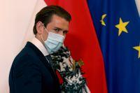 Österrikes förbundskansler Sebastian Kurz. Arkivbild.