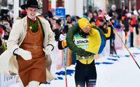 Lina Korsgren vann Vasaloppet 2020. Arkivbild.