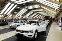 Tyska biljätten Volkswagen har som en del av en uppgörelse med amerikanska justitiedepartementet erkänt sig skyldig till brott i samband med avgasskandalen. Arkivbild.