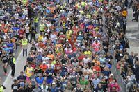 Starten i Stockholm marathon 2019.