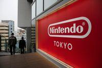 Nintendo var draglok på Tokyobörsen i fredagens handel, med ett kurslyft på 2,6 procent. Arkivbild.