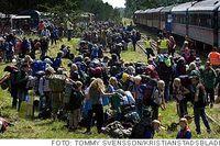 19000 scouter från hela världen deltar i jiingijamborii, det stora scoutlägret på Rinkabyfältet utanför Kristianstad.