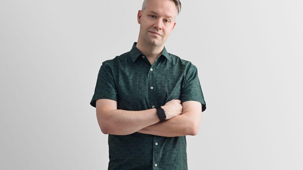 Måns Jonasson, digital strateg på Internetstiftelsen i Sverige, är orolig för konsekvenserna av EU:s nya upphovsrättsdirektiv. Arkivbild.