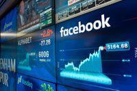 Facebook tillhörde vinnarna på Wall Street. Arkivbild.