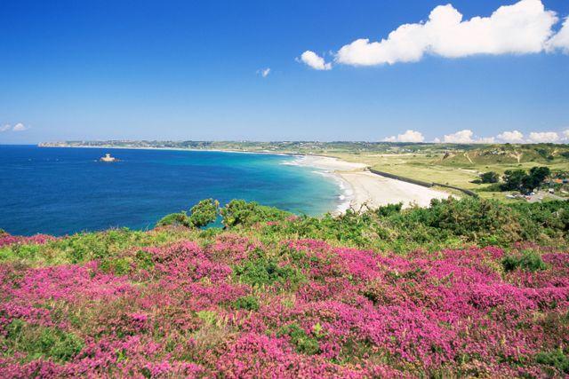 Queens Bay, Channel Islands.