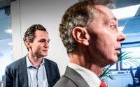 Allras vd Alexander Ernstberger och bolagets nye ordförande Gunnar Axén.