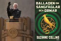 Den åldrade presidenten Coriolanus Snow spelas av Donald Sutherland i filmerna.