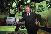 Tidigare SVT-chefen Sam Nilsson är död. Arkivbild från 1998.