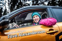 Tove Alexandersson kan se tillbaka på sitt bästa år i karriären.