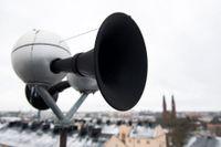 """Varningssignalen """"Hesa Fredrik"""" har utsatts för sabotage tio gånger sedan 2019. Arkivbild."""