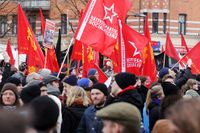 Tusentals demonstrerade mot nazism i Malmö
