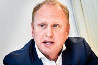 Lastbilstillverkaren Scania, med vd Henrik Henriksson, kan glädjas åt ett kraftigt lyft för orderingången under tredje kvartalet. Arkivbild