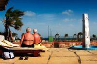 Resort i Egypten.
