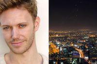 Erik Höiby, svensk-norsk musikalartist från Stockholm, befinner sig just nu i Tel Aviv.