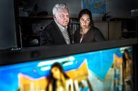 Perly Hadziomerovic och Per-Åke Wecksell jobbar vid polisens it-brottsenhet mot sexuella övergrepp mot barn.