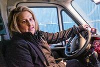 Sofie Holmström är tillbaka på jobbet.