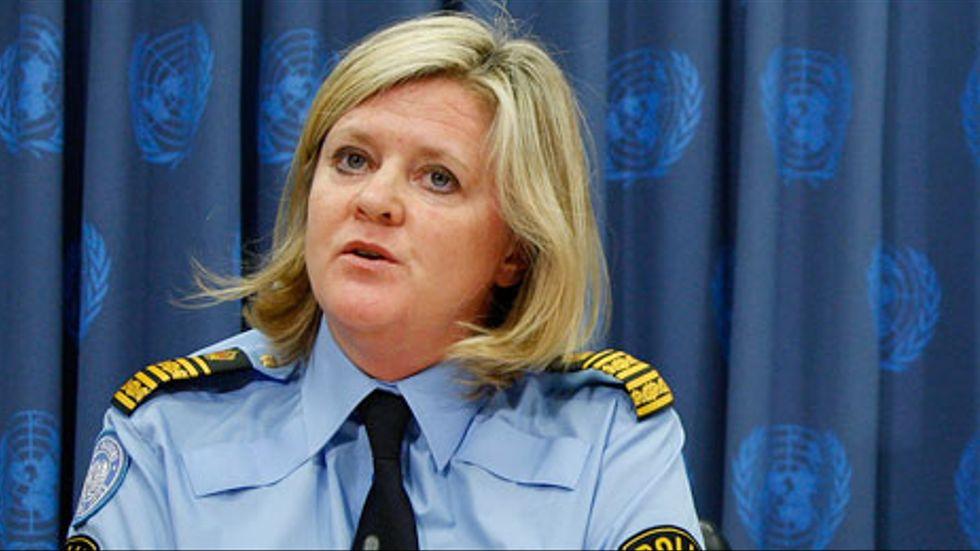Ann-Marie Orler, tidigare länspolismästare i Västmanland, utsågs på måndagen till ny högsta chef för FN:s polisstyrka.