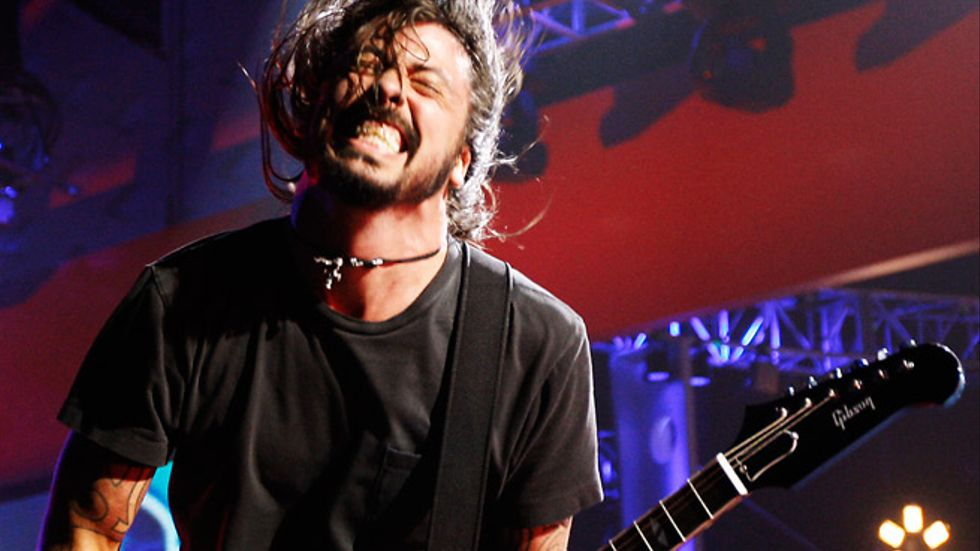 Foo Fighters frontfigur Dave Grohl.