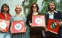 Abba anno 1977. Nu kommer gruppen ut med en låt från året därpå, 43 år gammal. Arkivbild.