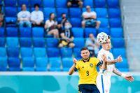 För nära kontakt med motståndare efter slutsignal kan vara bra att undvika för Sverige.