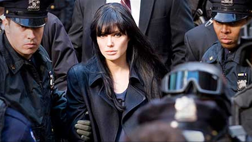 Angelina Jolie ur filmen Salt.