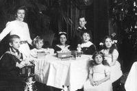 Julfirande i Sverige tidigt på 1900-talet.