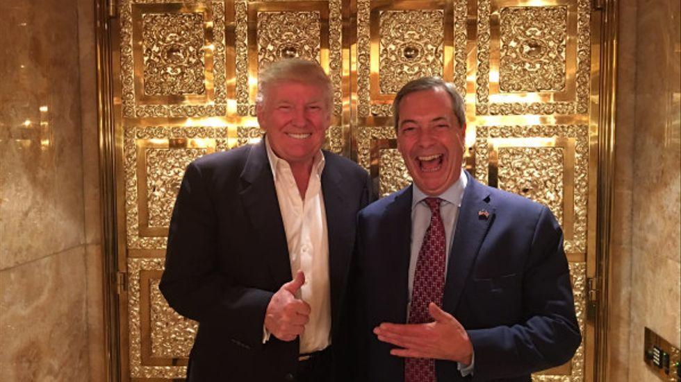 Donald Trump och Nigel Farage har fått opinionsvindarna att skifta.