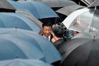 I går anlände Xi Jinping till ett regnigt Osaka, när nu Japan för första gången är ordförandeland för G20.