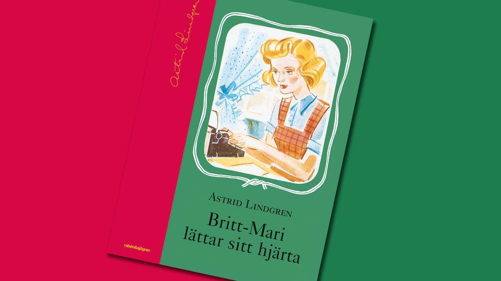 """Astrid Lindgrens debutbok från 1944 """"Britt-Mari lättar sitt hjärta"""" vittnar om dubbelnamnets storhetsperiod i början av förra seklet."""