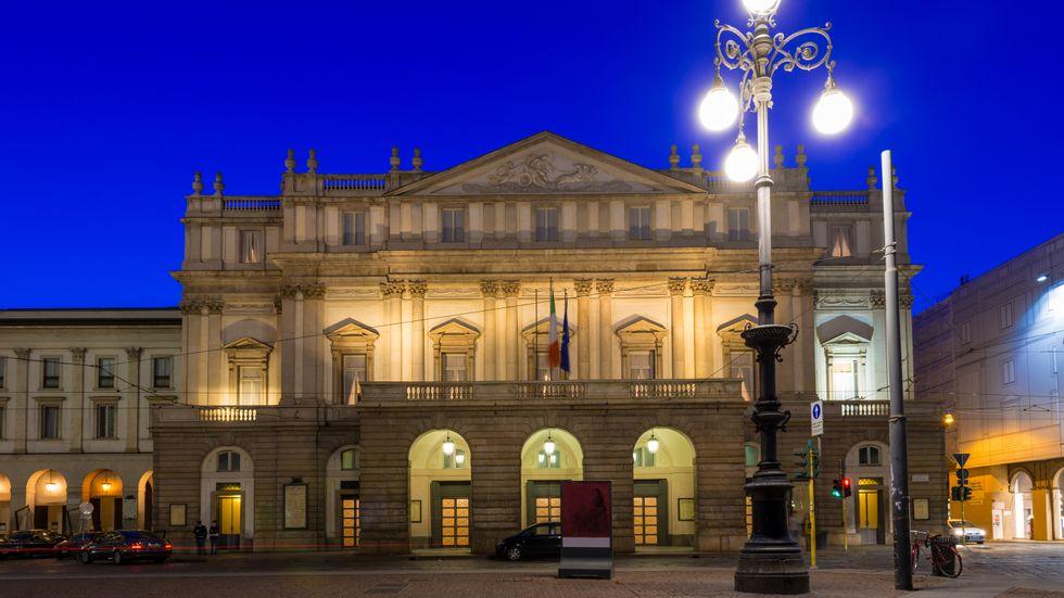 Teatro alla Scala i Milano.