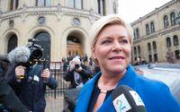 Siv Jensen, partiledare för Fremskrittspartiet.