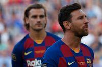 Antoine Griezmanns (vänster) Barcelona förstärks med superstjärnan Lionel Messi i tisdagens match med Borussia Dortmund. Arkivbild.